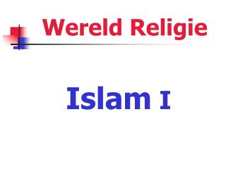 Wereld Religie