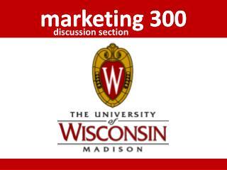 marketing 300