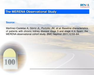 The MERENA Observational Study