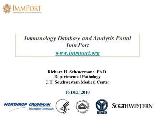Immunology Database and Analysis Portal ImmPort immport