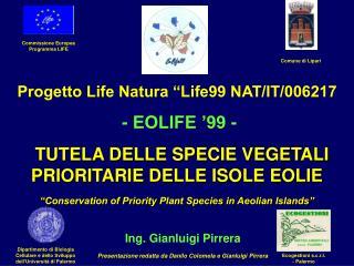 Commissione Europea Programma LIFE