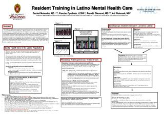 Resident Training in Latino Mental Health Care
