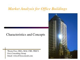 Market Analysis for Office Buildings