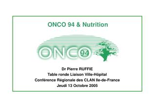 ONCO 94 & Nutrition