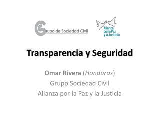 Transparencia  y  Seguridad