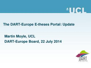The DART-Europe E-theses Portal: Update