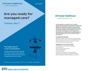 Are You Ready for Managed Care?