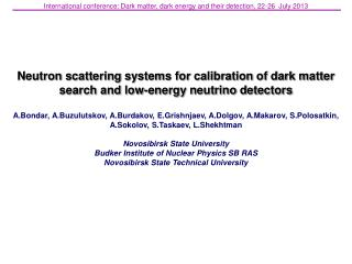 Neutron scattering systems for calibration of dark matter search and low-energy neutrino detectors