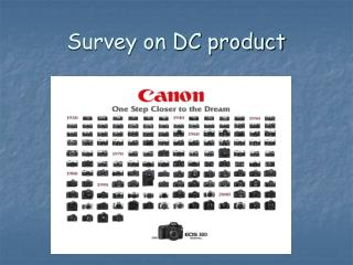 Survey on DC product