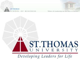 Overview of St. Thomas University