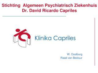 Stichting  Algemeen Psychiatrisch Ziekenhuis Dr. David Ricardo Capriles
