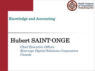 Knowledge and Accounting