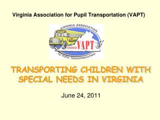 Virginia Association for Pupil Transportation VAPT