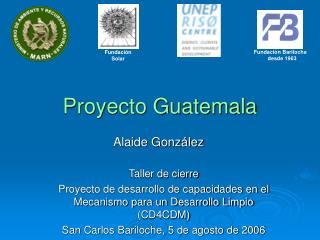 Proyecto Guatemala