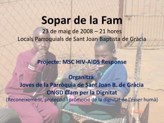 Projecte: MSC HIV-AIDS Response