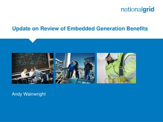 Update on Review of Embedded Generation Benefits