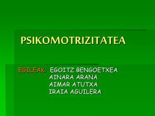 PSIKOMOTRIZITATEA