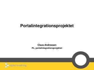 Portalintegrationsprojektet