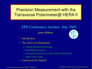 Precision Measurement with the Transverse Polarimeter@ HERA II