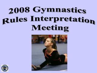 2008 Gymnastics  Rules Interpretation  Meeting