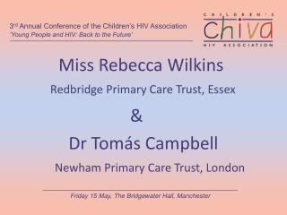 Miss Rebecca Wilkins
