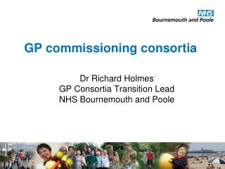 GP commissioning consortia