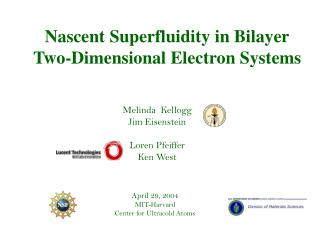 Nascent Superfluidity in Bilayer Two-Dimensional Electron Systems