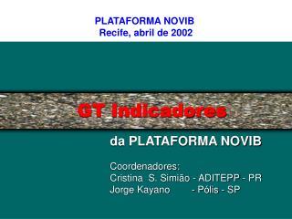GT Indicadores