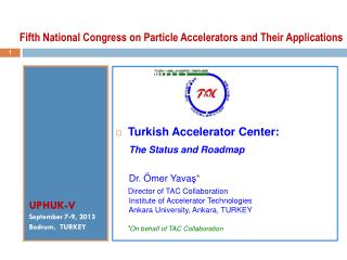 Fifth National Congress on Particle Accelerators and Their Applications