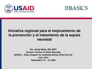 Iniciativa regional para el mejoramiento de la prevención y el tratamiento de la sepsis neonatal