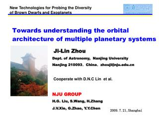 Towards understanding the  orbital architecture of multiple planetary systems