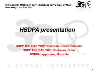 HSDPA presentation