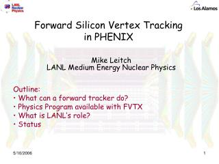Forward Silicon Vertex Tracking in PHENIX