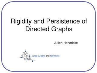 Rigidity and Persistence of Directed Graphs