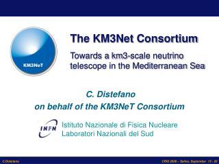 The KM3Net Consortium