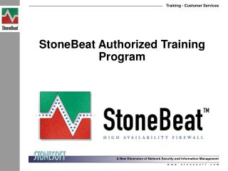 StoneBeat Authorized Training  Program