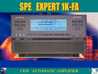 SPE   EXPERT 1K-FA