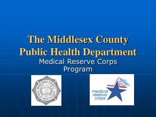 The Middlesex County Public Health Department