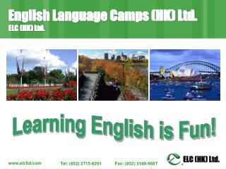 English Language Camps (HK) Ltd. ELC (HK) Ltd.