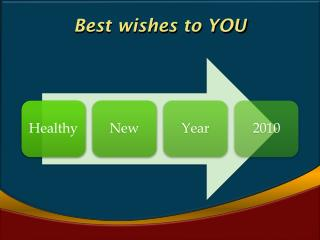 Best wishes to YOU