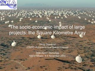 The socio-economic impact of large projects: the Square Kilometre Array