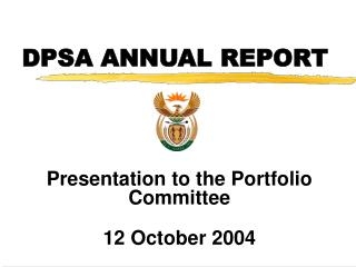 DPSA ANNUAL REPORT