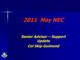 2011  May NEC