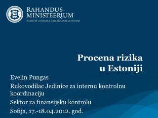 Procena ri zika  u Estoniji
