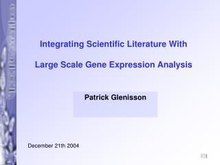Patrick Glenisson