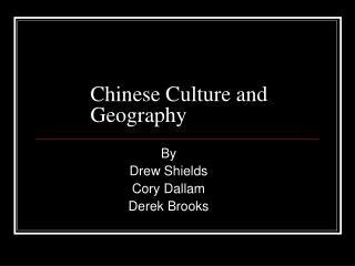 ChineseCultureandGeo..
