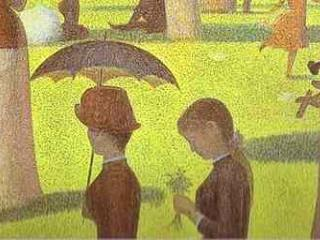 "Georges Seurat 1859-1891 Oil on Canvas ""A Sunday on La Grande Jatte"" 1884-86"