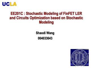 Shaodi Wang 004033643