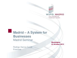 Madrid – A System for Businesses Madrid Seminar