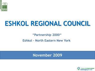 ESHKOL REGIONAL COUNCIL
